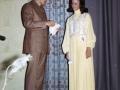 Bonnie Thompson and Dick Lamb at Miss KHS