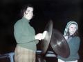 Peggy Dixon and Kiane Kammerzell bonfire 1969